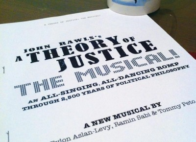 A theory of justice the musical