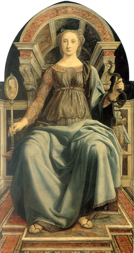 Prudence by Piero del Pollaiuolo